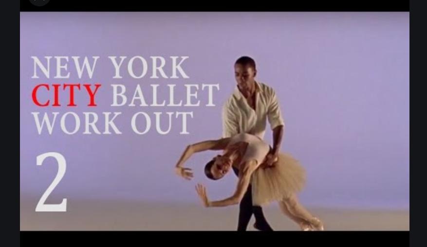 NYCバレエ・ワークアウト2