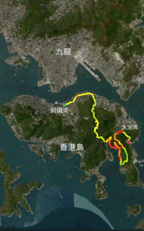 HKtrail course