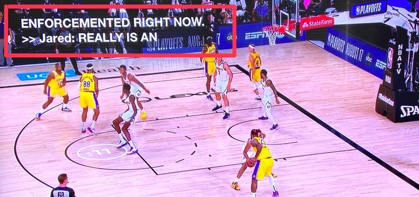 NBA字幕