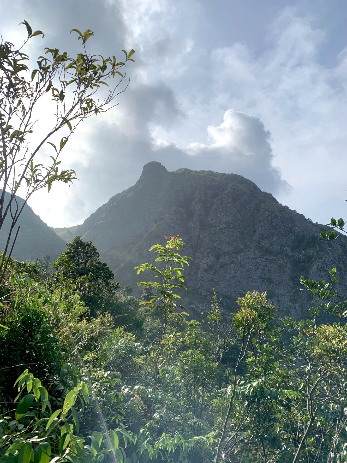 マ−オン山