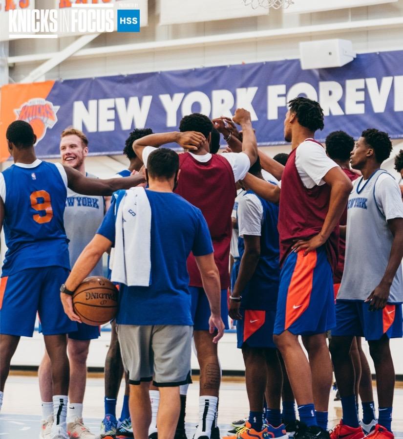 Knicks練習