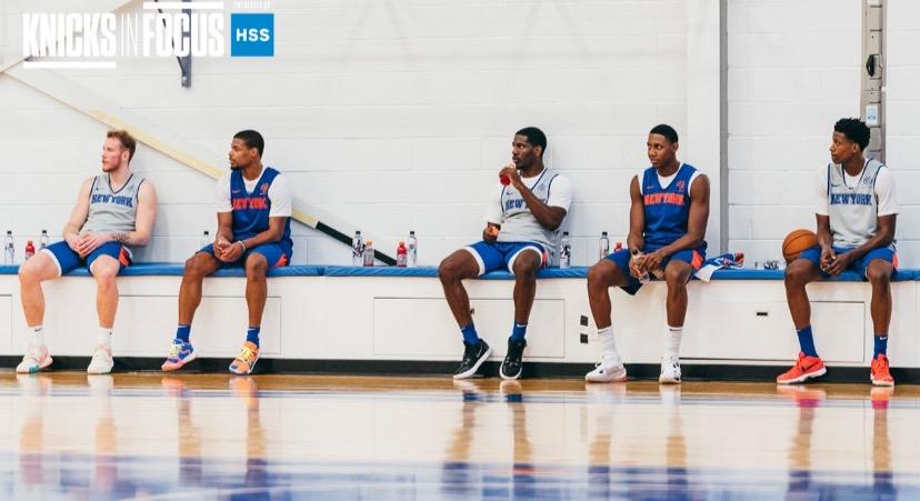 Knicks練習 2