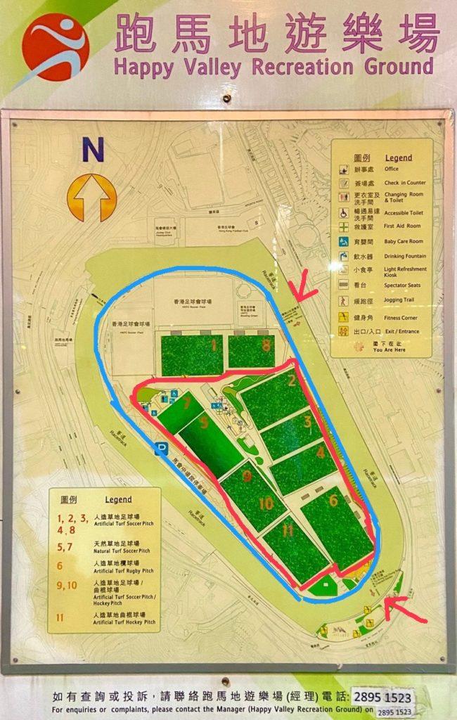 ハッピーバレー地図2