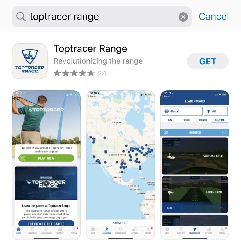 ゴルフアプリtoptracer