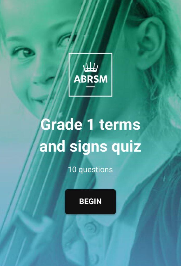 ABRSM理論1