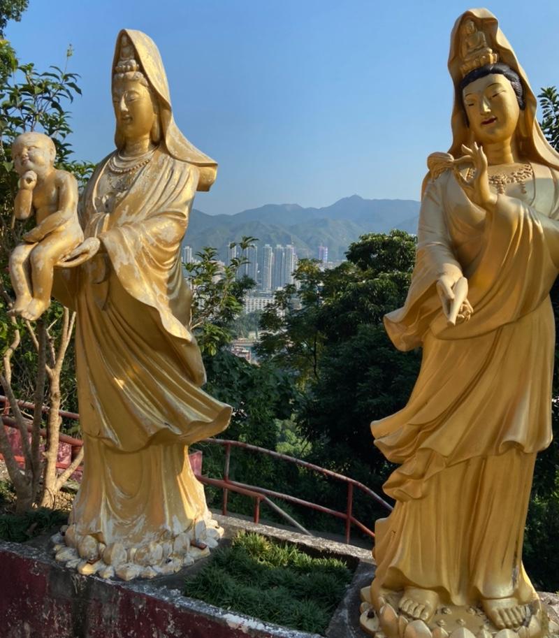 万仏寺上山