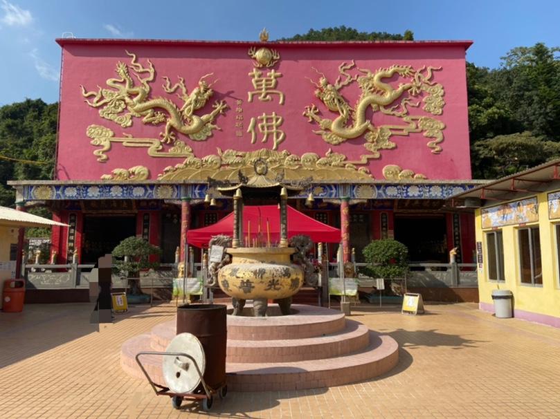 万仏寺本堂