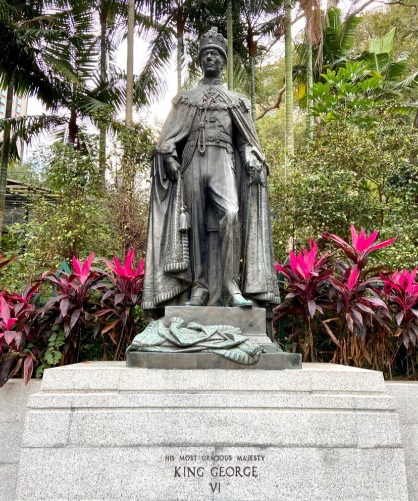 香港動植物銅像