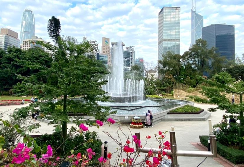 香港動植物公園噴水