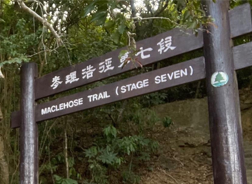 大帽山沢登りマクリ7