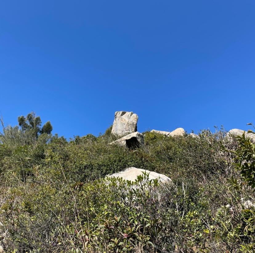 ハイジャンクピーク岩