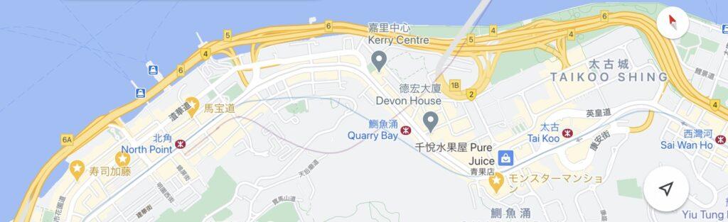 モンスターマンション地図