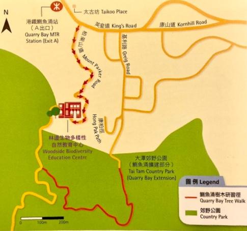 ウッドサイド地図