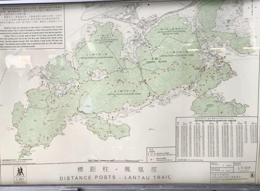 ランタオ地図