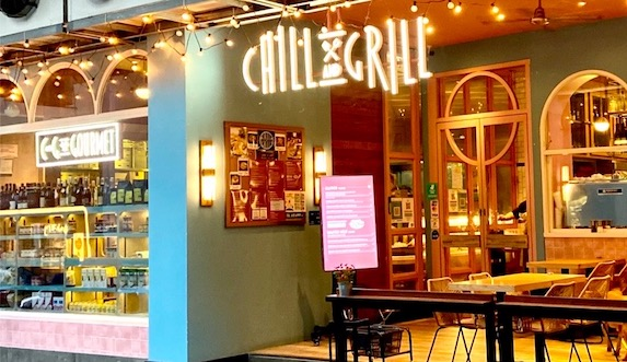 Chill & Grill表紙